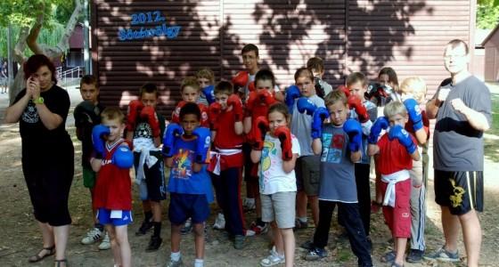 2016 Tavaszi Gyermek hétvégi Kung fu tábor